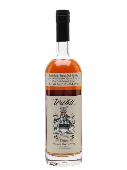 Willett's 4 Year Old Family Reserve Rye Straight Rye Whisky