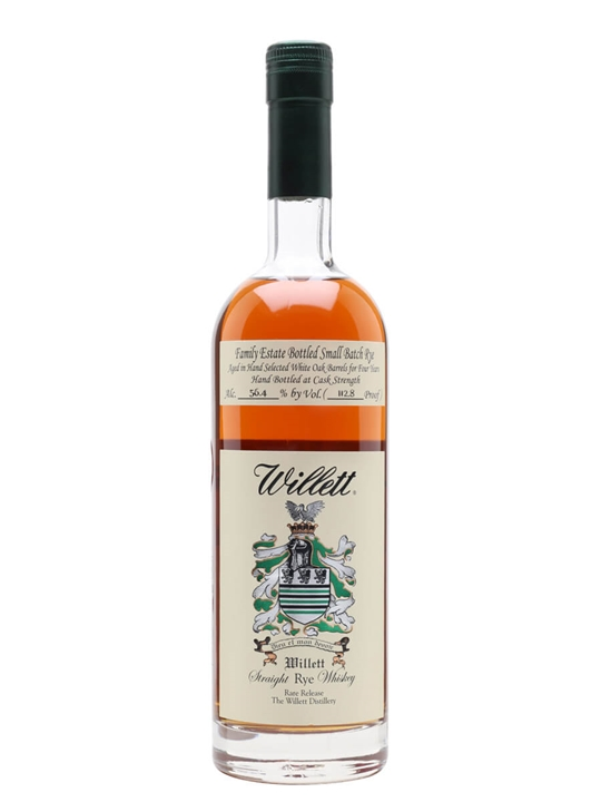 Willett's 4 Year Old Family Reserve Rye Straight Rye Whiskey