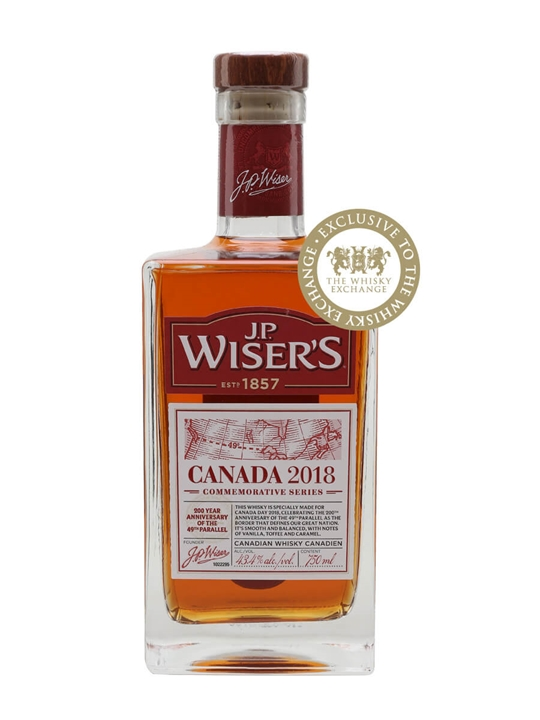 JP Wiser's Canada Day Canadian Whisky