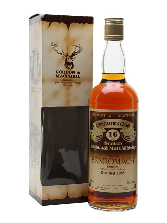 Benromach 1968 / 16 Year Old / Connoisseurs Choice Speyside Whisky