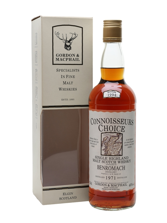 Benromach 1971 / Bot.1994 / Sherry Cask /Connoisseurs Choice Speyside Whisky