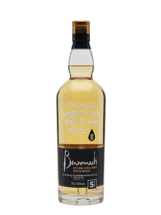 Benromach 5 Year Old Speyside Single Malt Scotch Whisky
