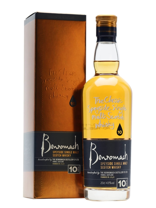Benromach 10 Year Old / Small Bottle Speyside Whisky
