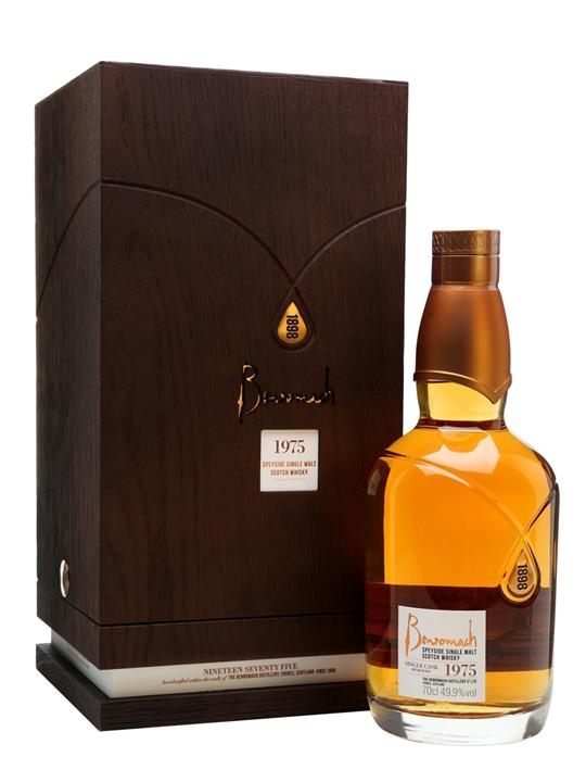 Benromach 1975 Single Cask Speyside Single Malt Scotch Whisky