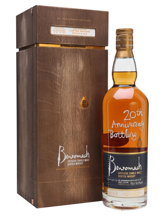 Benromach 1998 / 20th Anniversary Bottling Speyside Whisky