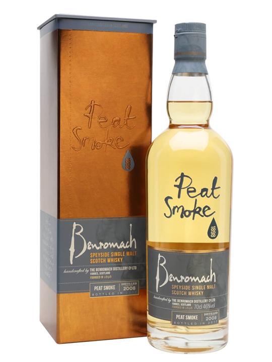 Benromach 2008 / Bot.2017 / Peat Smoke Speyside Whisky