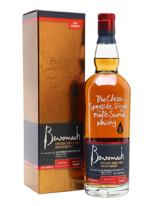 Benromach 2009 Cask Strength / Batch 1 Speyside Whisky