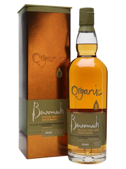 Benromach 2010 / Bot.2016 / Organic Speyside Single Malt Scotch Whisky