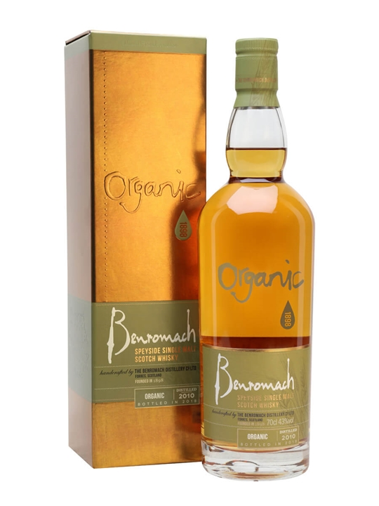Benromach Organic 2010 / Bot.2018 Speyside Single Malt Scotch Whisky