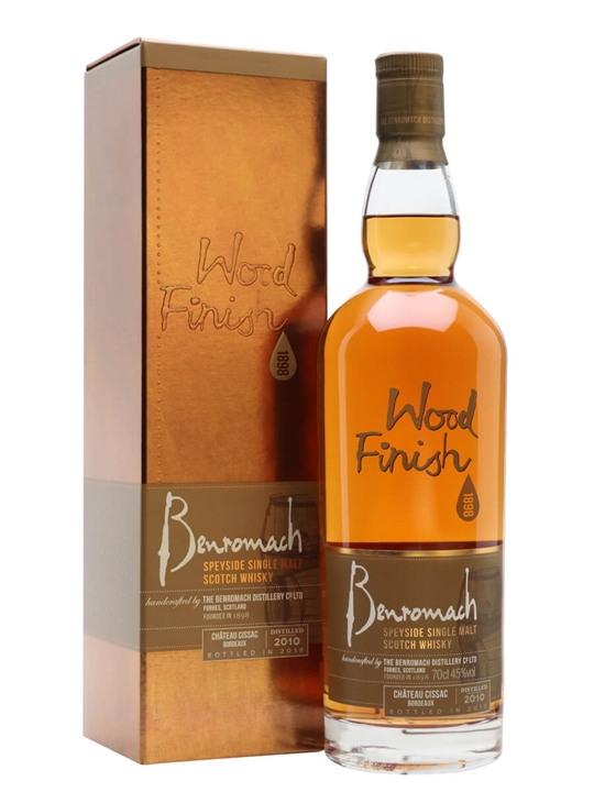 Benromach 2010 / Bot.2018 / Chateau Cissac Finish Speyside Whisky