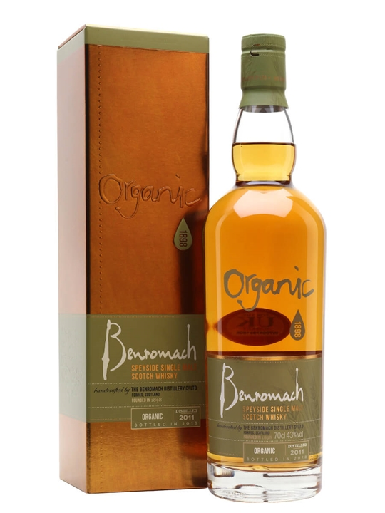 Benromach Organic 2011 / Bot.2019 Speyside Single Malt Scotch Whisky