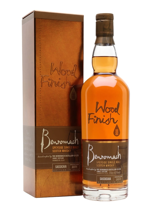 Benromach 2011 / Bot.2019 / Sassicaia Finish Speyside Whisky