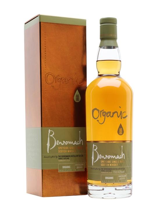 Benromach 2011 / Bot.2018 / Organic Speyside Single Malt Scotch Whisky