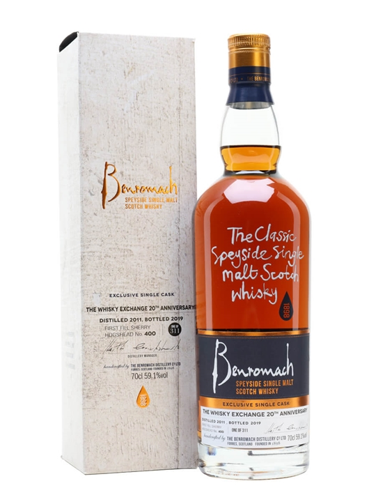 Benromach 2011 / 8 Year Old / Sherry Cask / TWE Exclusive Speyside Whisky