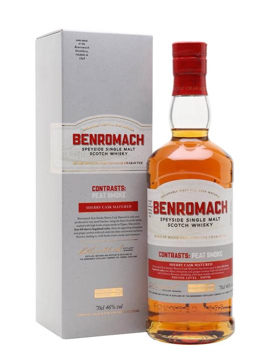 Benromach Contrasts: Peat Smoke Sherry Cask 2012 / Bot.2021 Speyside Whisky
