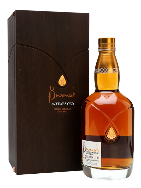 Benromach 35 Year Old Speyside Single Malt Scotch Whisky
