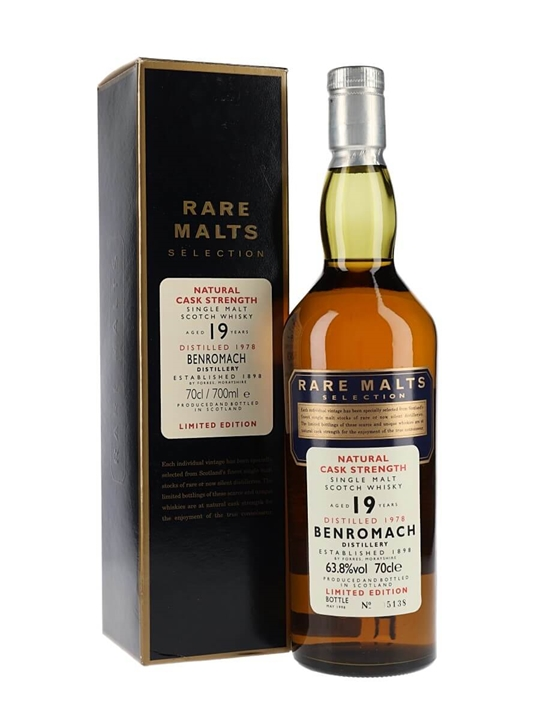 Benromach 1978 / 19 Year Old / Rare Malts Speyside Whisky