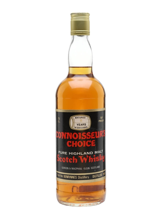 Benrinnes 1968 / 11 Year Old / Connoisseurs Choice Speyside Whisky