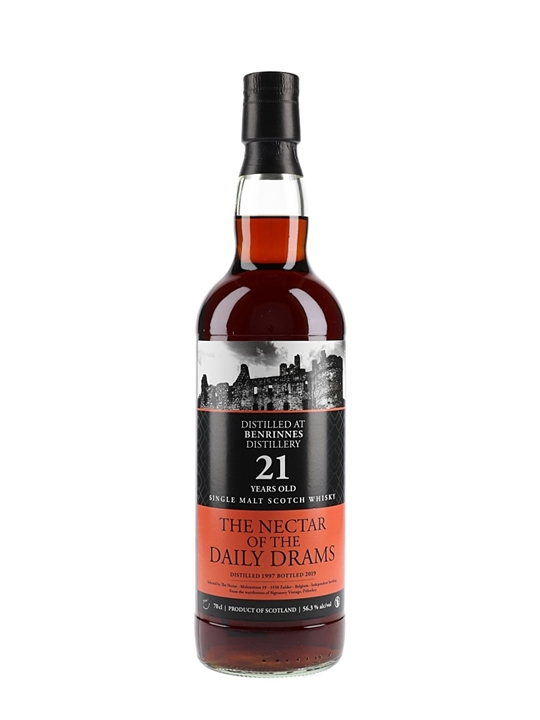 Benrinnes 1997 / 21 Year Old / 70cl / Daily Dram Speyside Whisky