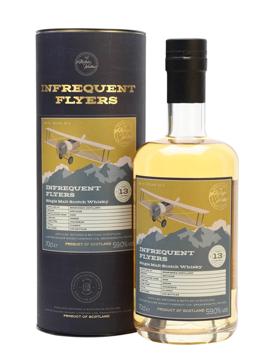 Benrinnes 2006 / 13 Year Old / Infrequent Flyers Speyside Whisky
