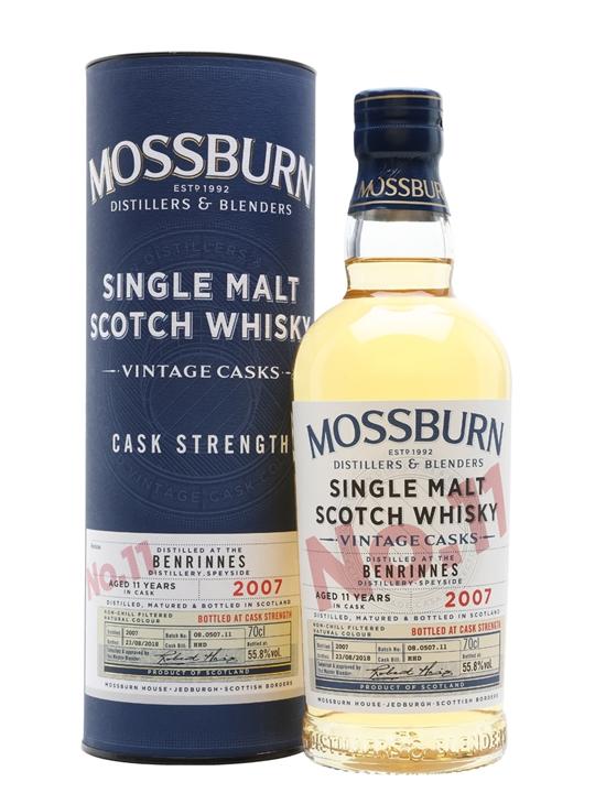 Benrinnes 2007 / 11 Year Old / Vintage Casks #11 / Mossburn Speyside Whisky