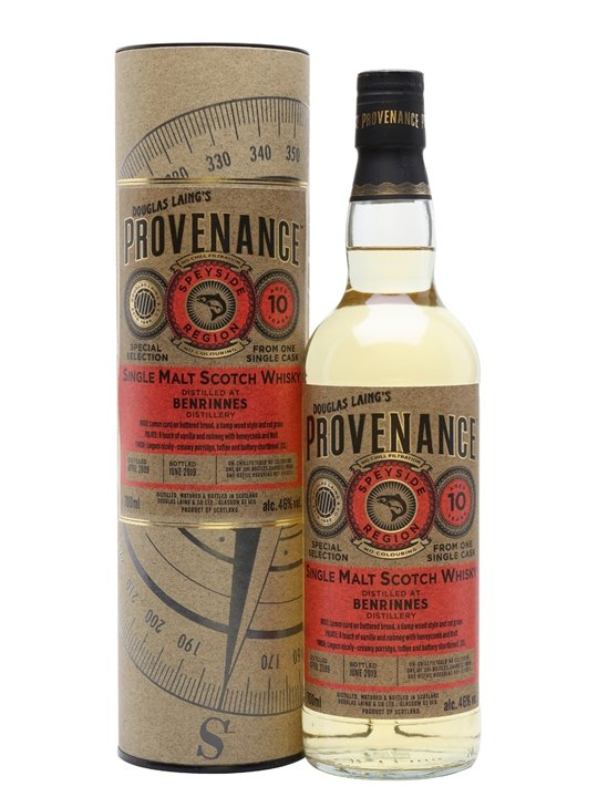 Benrinnes 2009 / 10 Year Old / Provenance Speyside Whisky