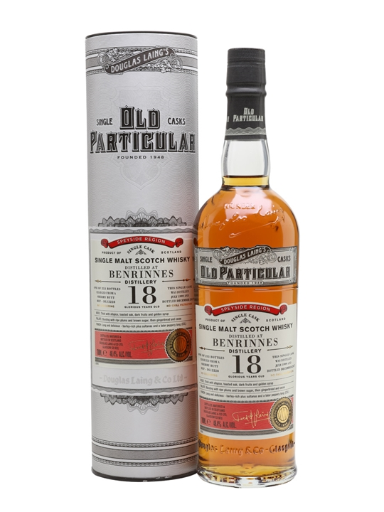 Benrinnes 1999 18 Year Old / Old Particular Speyside Whisky