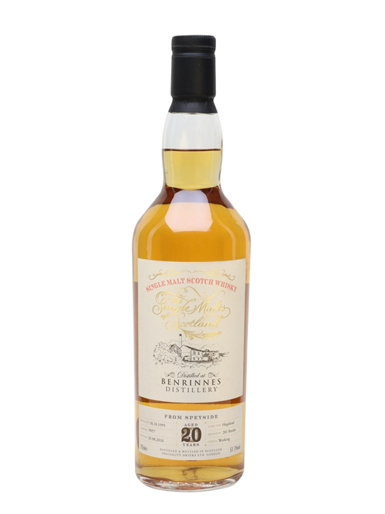 Benrinnes 1995 / 20 Year Old / Single Malts Of Scotland Speyside Whisky
