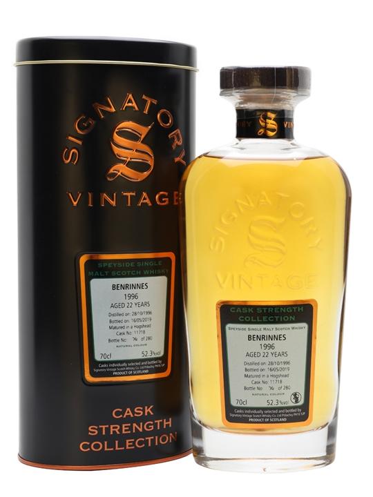 Benrinnes 1996 / 22 Year Old / Signatory Speyside Whisky