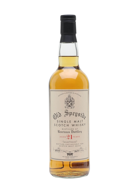 Benrinnes 21 Year Old / Scotch Malt Sales Speyside Whisky