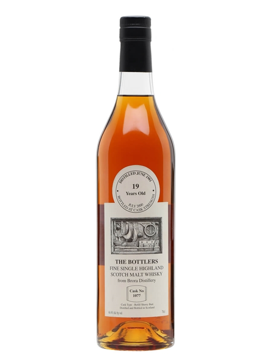 Brora 1981 / 19 Year Old / Refill Sherry / Bottlers Highland Whisky