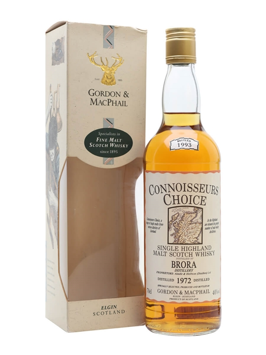 Brora 1972 / Bot.1993 / Connoisseurs Choice Highland Whisky