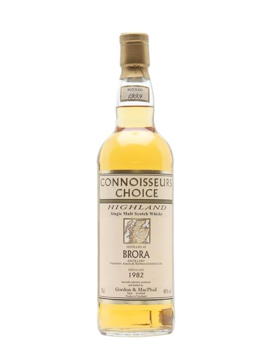 Brora 1982 / Bot.1999 / Connoisseurs Choice Highland Whisky