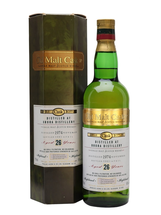 Brora 1974 / 26 Year Old / Old Malt Cask Highland Whisky