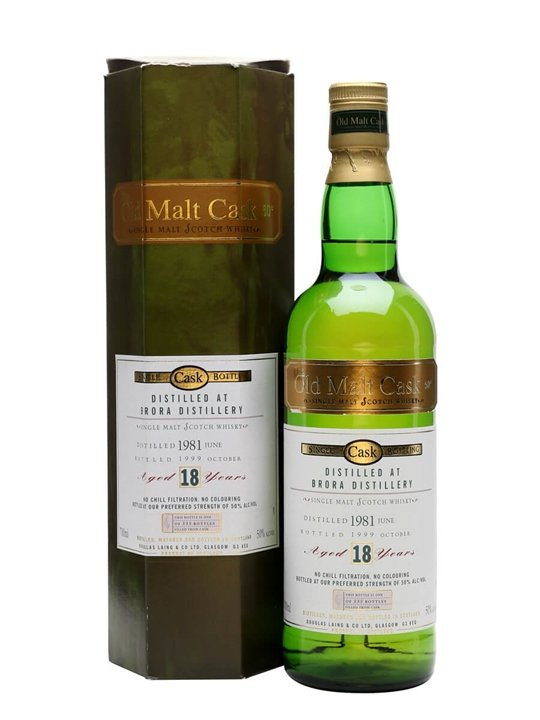 Brora 1981 / 18 Year Old / Old Malt Cask Highland Whisky