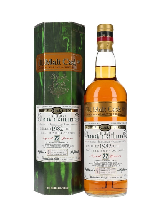 Brora 1982 / 22 Year Old / Sherry Cask / Old Malt Cask Highland Whisky