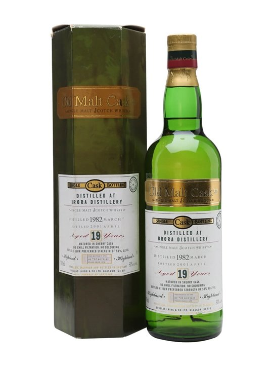 Brora 1982 / 19 Year Old / Old Malt Cask Highland Whisky