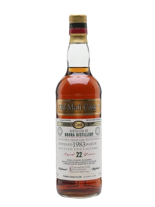Brora 1983 / 22 Year Old / Sherry Cask / Old Malt Cask Highland Whisky