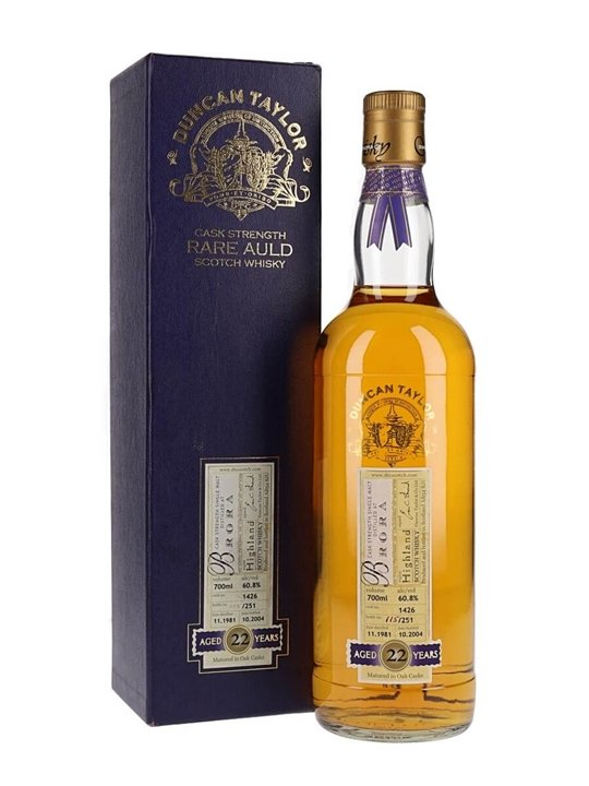 Brora 1981 / 22 Year Old / Duncan Taylor Highland Whisky