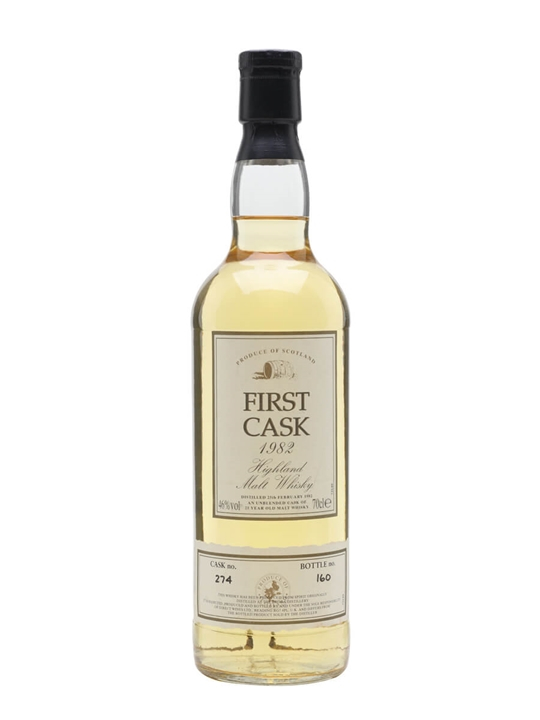 Brora 1982 / 21 Year Old / Cask #274 / First Cask Highland Whisky