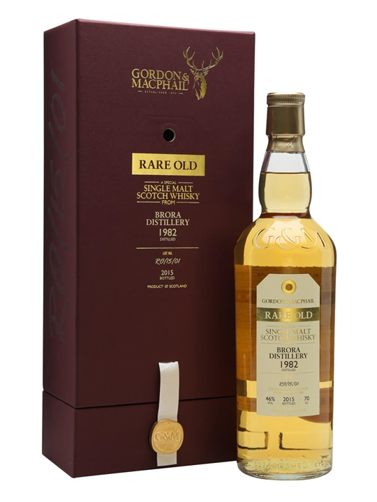 Brora 1982 / 33 Year Old / Rare Old / Gordon & MacPhail Highland Whisky