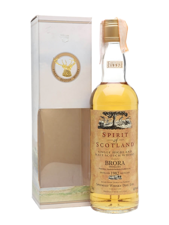 Brora 1982 / Bot.1997 / Spirit of Scotland Highland Whisky