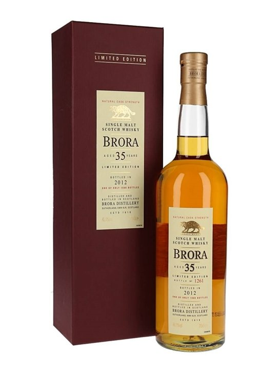 Brora 35 Year Old / 11th Release / Bot.2012 Highland Whisky