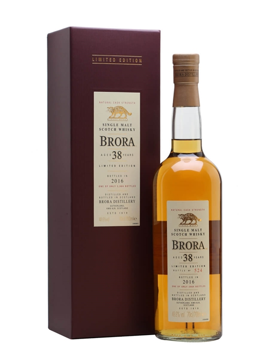 Brora 1977 / 38 Year Old / Special Releases 2016 Highland Whisky