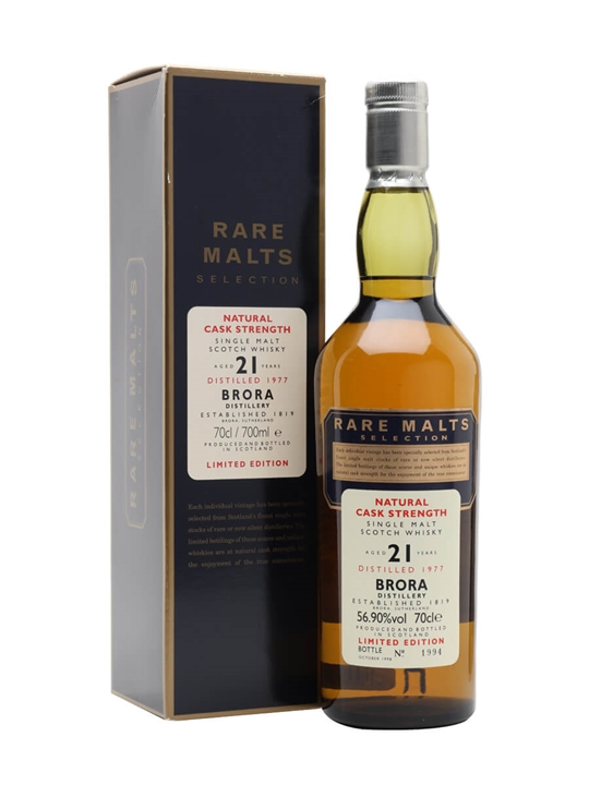Brora 1977 / 21 Year Old / Rare Malts Highland Whisky