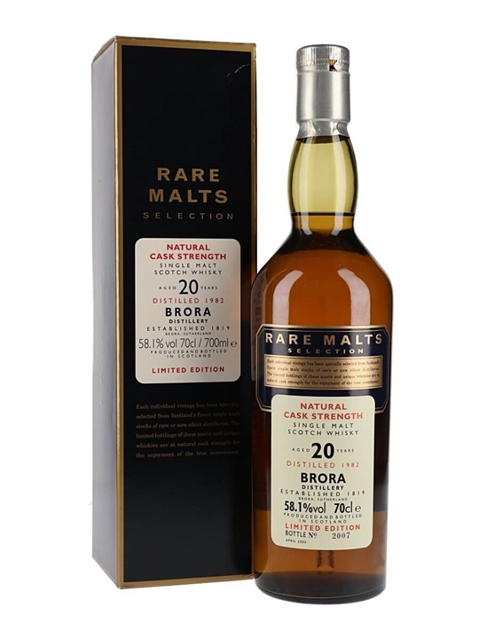 Brora 1982 / 20 Year Old / Rare Malts Highland Whisky