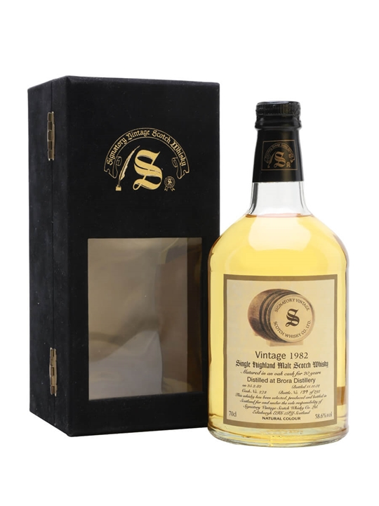 Brora 1982 / 20 Year Old / Signatory Highland Whisky