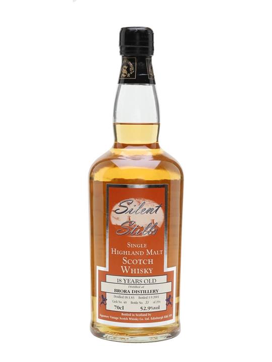 Brora 1983 / 18 Year Old / Silent Stills / Cask #40 Highland Whisky