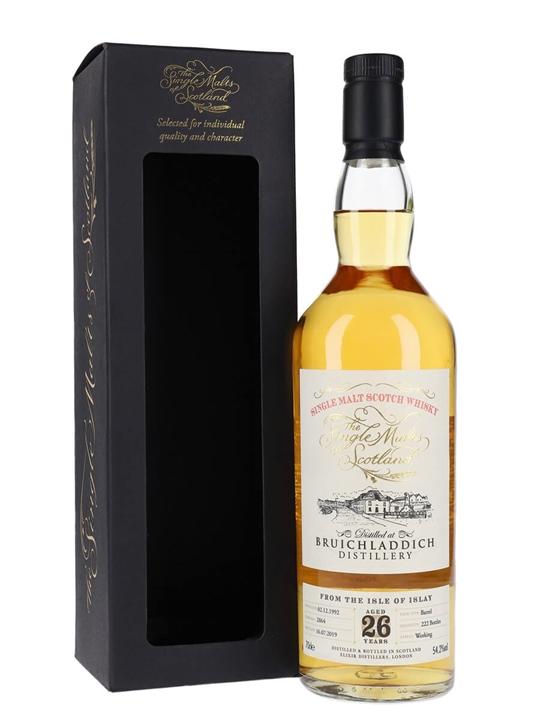 Bruichladdich 1992 / 26 Years Old / Single Malts of Scotland Islay Whisky