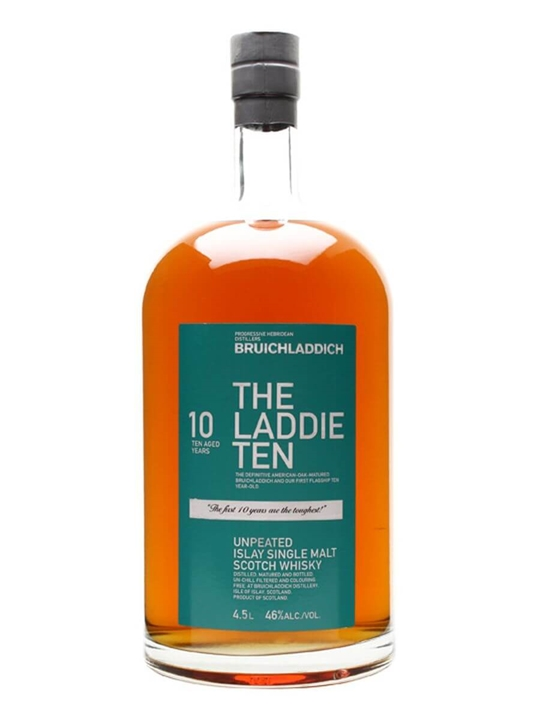 Bruichladdich 10 Year Old / The Laddie Ten / Large Bottle Islay Whisky